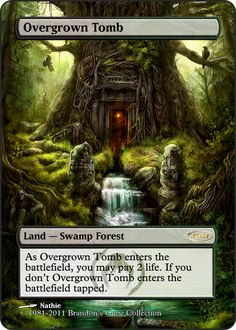 Magic The Gathering Overgrown Tomb Proxy