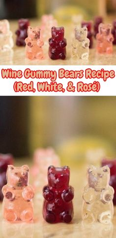 I made Rose Wine Gummies, Margarita (I used 1800 Mix) and I made che. Alcohol Gummy Bears, Homemade Gummy Bears, Wine Jelly, Sweet Wine, Wine Parties, Alcohol Recipes, Cooking Recipes, Cooking Stuff, Cooking Food