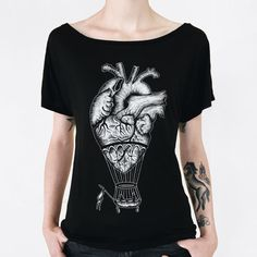 Hey, I found this really awesome Etsy listing at https://www.etsy.com/listing/230445392/anatomical-heart-shirt-womens-tshirt-hot