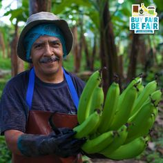 Remember: Behind every #banana, there is a person. Will you treat them fairly? http://BeFair.org/ #BeFair #FairTrade #bananas