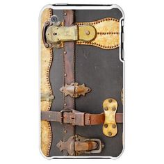 STEAMPUNK LUGGAGE iPhone Case  This is the one I want. It doesn't make the camera more obvious.