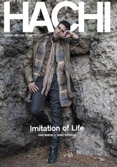 Fabio Mancini for HACHI Magazine by Daniel Rodrigues - styling Giorgio Ammirabile