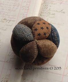 Woodland Primitives - puzzle ball