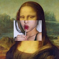 #monalisa #suckin on #a #lollipop #standing #at #the #bus #stop .. #axiomsofspacecadetsonice2 #axiomsofspacecadetsonice#axiomfacekillah #classic #painting :#Picasso: #soundcloud #raphiphop #mixtape #barsandhooks #thatfeeling