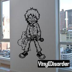 Graffiti Wall Decal - Vinyl Decal - Car Decal - DC 12940