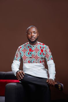 Ankara Xclusive: Hot African Men Trending Ideas That Will Blow Your Mind Latest Ankara Dresses, African Dresses Men, African Attire For Men, Ankara Dress Styles, African Wear, Ankara Blouse, African Shirts For Men, Ankara Tops, Ankara Skirt
