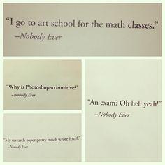 """My school is funny"" #RMCAD photo by rayrayedel via #instagram"