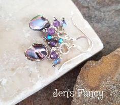 Unique Handcrafted Gemstone Jewelry by Jen's Fancy by JensFancy Wolf Jewelry, Skull Jewelry, Pearl Jewelry, Gemstone Jewelry, Amethyst Earrings, Sterling Silver Earrings, Silver Rings, Pearl Earrings, Artisan Jewelry