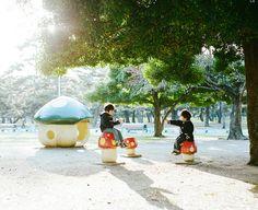 park life #5 by Hideaki Hamada, via Flickr