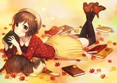 #anime #bookworm