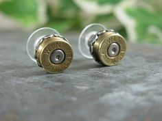 Bullet earrings. I'm very pro-gun, pro-second amendnent rights.