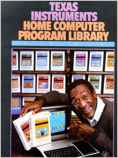Texas Instruments & Bill Cosby #vintage #ad #cool #tech #SocialMedia #Marketing #DDWInc #DynamicDesignworks   For social networking tips, tricks and news friend us on Facebook http://www.facebook.com/ddwinc