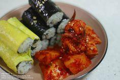 매콤하고 깔끔한 맛, 충무김밥 – 레시피 | Daum 요리