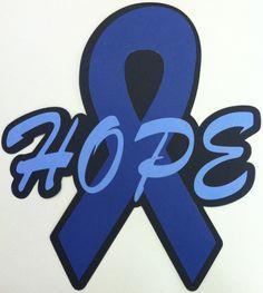 Cancer Awareness Ribbons. $6.00, via Etsy.