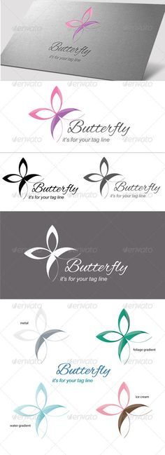 Butterfly - Logo Design Template Vector #logotype Download it here: http://graphicriver.net/item/butterfly/3637845?s_rank=568?ref=nexion