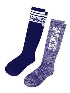 Knee Socks Set PINK