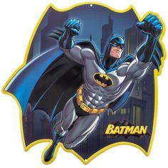 This Batman Gotham City DC Embossed Tin Sign brings authentic vintage style to your home or business decor. Made of embossed, die-cut tin. Batman Poster, Batman Art, Batman Robin, Dc Comics Superheroes, Dc Comics Art, Marvel Mug, Comics Toons, Batman Comic Books, Famous Cartoons