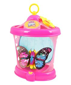 This Little Live Pets Rare Wings' Butterfly House & Butterfly by Beados is perfect! #zulilyfinds