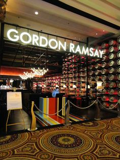Gordon Ramsay Pub and Grill, Caesar's Palace Hotel and Casino, Las Vegas, Nevada, USA