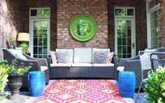 Awesome Large Outdoor Patio Rugs