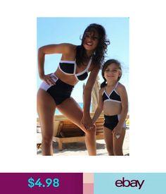 17082ce782 Swimwear Fashion Mother Daughter Summer Swimwear Sets Family Matching  Swimsuit C