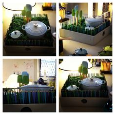 Le Creuset at segnoDsegno Milano Design Week 2013 set up Simonetta Simonelli #lecreuset #cocotte #press2 #design #fuorisalone 2013