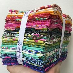 Tula Pink Fabric Slow & Steady Fat Quarter Bundle - https://www.stitchesquilting.com/shop/tula-pink-fabric-slow-steady-fat-quarter-bundle/