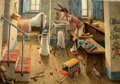 Roberto Innocenti illustratore-Le Avventure di Pinocchio
