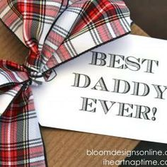 A beautiful collection of Father's Day gift tags.  You can create something similar using Avery printable tags and free designs and templates at avery.com/print.