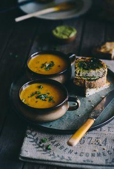 Carrot and Orange Soup - Souvlaki for the Soul Blog