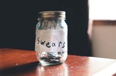 "Shae had once joked the need for a swear jar around Kai. The next morning Kai was at his door with a jar at hand and writing worte saying 'Swears'. ""How do you fucking like it?"" Kai had asked with a tone as cheeky as his smile, while he stood and popped a fifty pence piece inside."