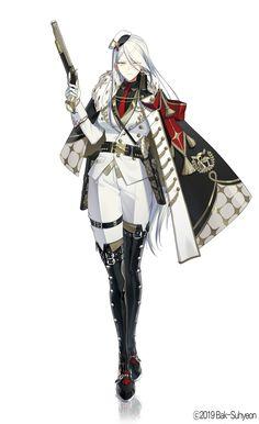 Cool Anime Girl, Beautiful Anime Girl, Anime Art Girl, Manga Art, Fantasy Character Design, Character Design Inspiration, Character Art, Anime Military, Military Girl