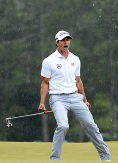 Adam Scott - The Masters - Final Round 04/14/13