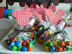 M bags for Mickey Mouse party