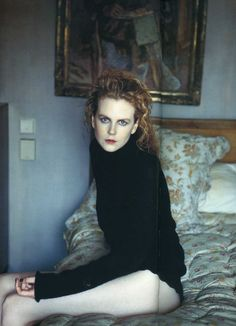Nicole Kidman by Annie Leibovitz. One of my favs. She is gorgeous and the composition and color are totally in.