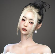Jennie hair ~ THE KUNSTWOLLEN The Sims 4 Skin, The Sims 4 Pc, Sims Four, Sims 4 Hair Male, Sims 4 Black Hair, Sims 4 Tsr, Sims Cc, Sims 4 Mods Clothes, Sims 4 Clothing