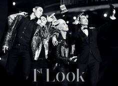 [BigBang][新闻]151217 《1st Look》公开BIGBANG MAMA special照--爱豆APP