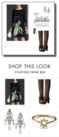 """""""Winter Dresses Under $100"""" by tjuli-interior ❤ liked on Polyvore featuring Nine West, Lanvin, Agnes de Verneuil and Chanel"""