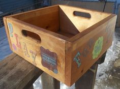Wooden Toy Boxes, Wooden Toys, Room Decorations, Cat Cat, Furnitures, Toy Chest, Pet Supplies, Cat Lovers, Baby Kids