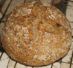 How to Make Organic Red Fife Sourdough Bread Whole Grain Sourdough Bread Recipe, Baking Recipes, Whole Food Recipes, Bread Recipes, Hoe Cakes, No Bake Treats, Sweet Bread, Organic Recipes, Food To Make