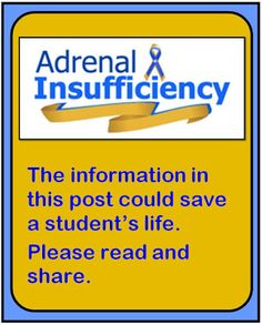 Adrenal Insufficiency in the Classroom: What You Need to Know - Minds in Bloom