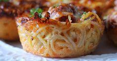 My Fridge Food: Easy Spaghetti Muffins