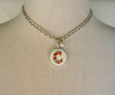 C Monograms, Pendant Necklace, Jewelry, Jewlery, Bijoux, Schmuck, Jewerly, Jewels, Jewelery