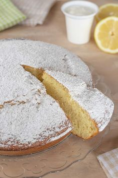 TORTA SOFFICE ALLO YOGURT | Fatto in casa da Benedetta Rossi Pastry Recipes, Cookie Recipes, Dessert Recipes, Italian Desserts, Italian Recipes, Yogurt Cake, Something Sweet, Homemade Cakes, Sweet Recipes