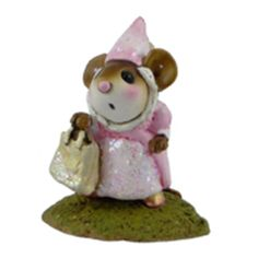 M-344a L'il Glitter Princess – Wee Forest Folk Collectible – Halloween | Wee Forest Folk Shop