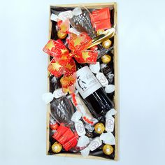 For the Birds Hamper Hampers, Goodies, Gift Wrapping, Birds, Sweet Like Candy, Gift Wrapping Paper, Gummi Candy, Wrapping Gifts, Bird