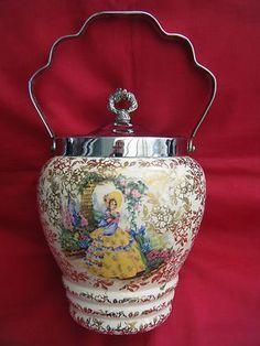 vintage biscuit jars - Google Search