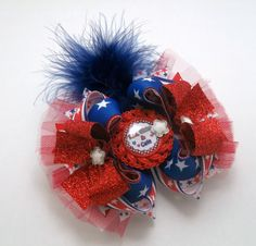 4th of july jojo bow