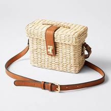 For something small that fits your necessities and looks a bit different, the Lily Loves straw box bag will set you apart from others around you. Box Bag, New Look, Women Accessories, Target, Lily, My Style, Australia, Natural, Bags
