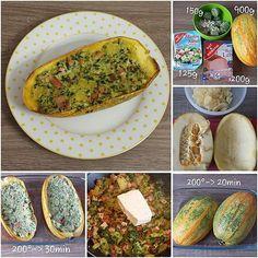 Gefüllter #Spaghettikürbis. #Kürbis #Feta #Hirtenkäse #Spinat #Leberkäse #pumpkin #fetacheese #cheese #spinach #spaghettipumpkin Imitated? -> please link me and turn on notification.⬆ #stepbystep #stepbystepcooking #lowcarbrecipes #lowcarbrezept #food #lowcarb #lowcarbfood #lowcarblife #lchp #lchf #instadaily #foodporn #instafood #fitfam #healthy #mecfs #mecfsgermany #mecfsdeutschland #cfsme